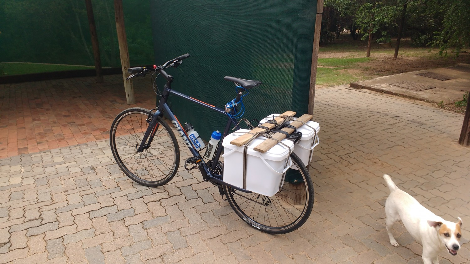 Bucket Panniers Touring
