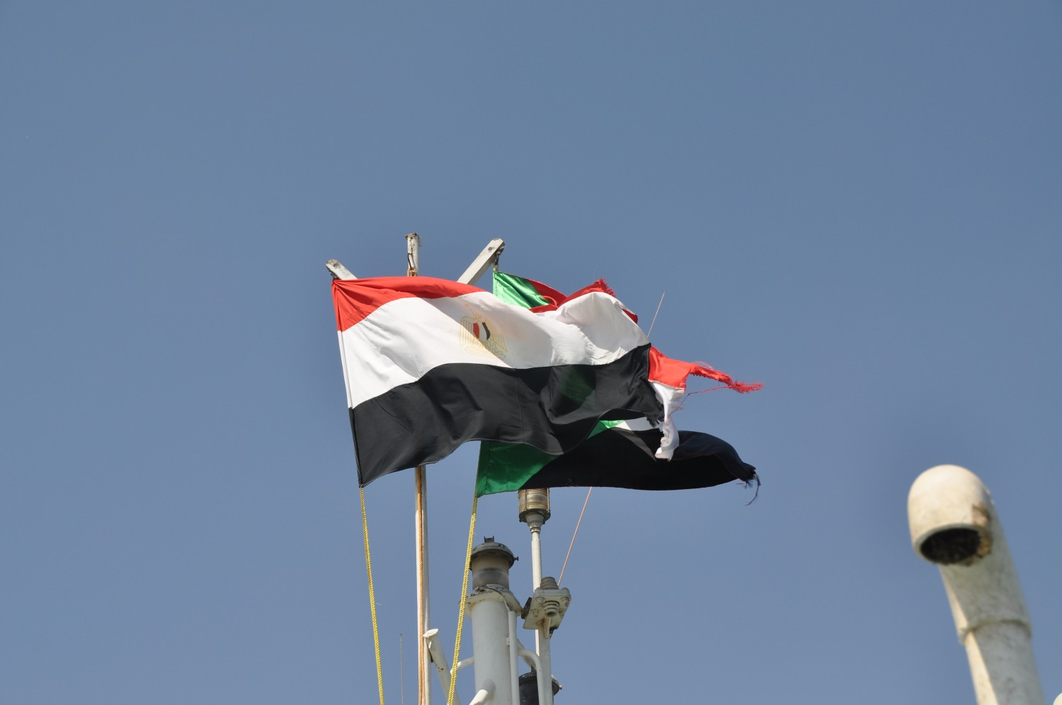 Flag of Egypt and Sudan