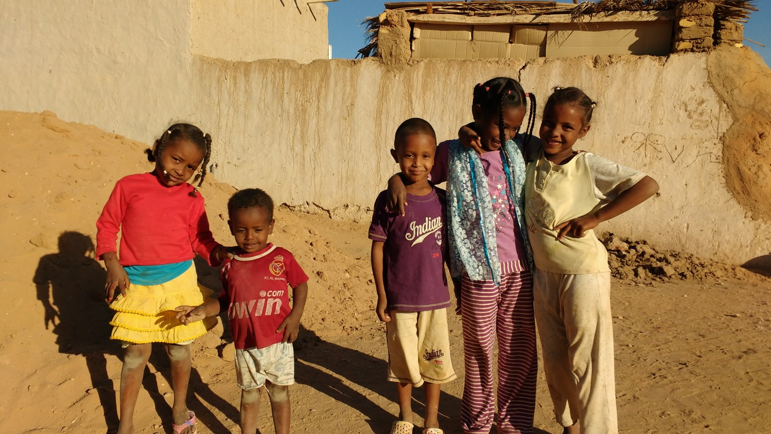 Kids in Karema