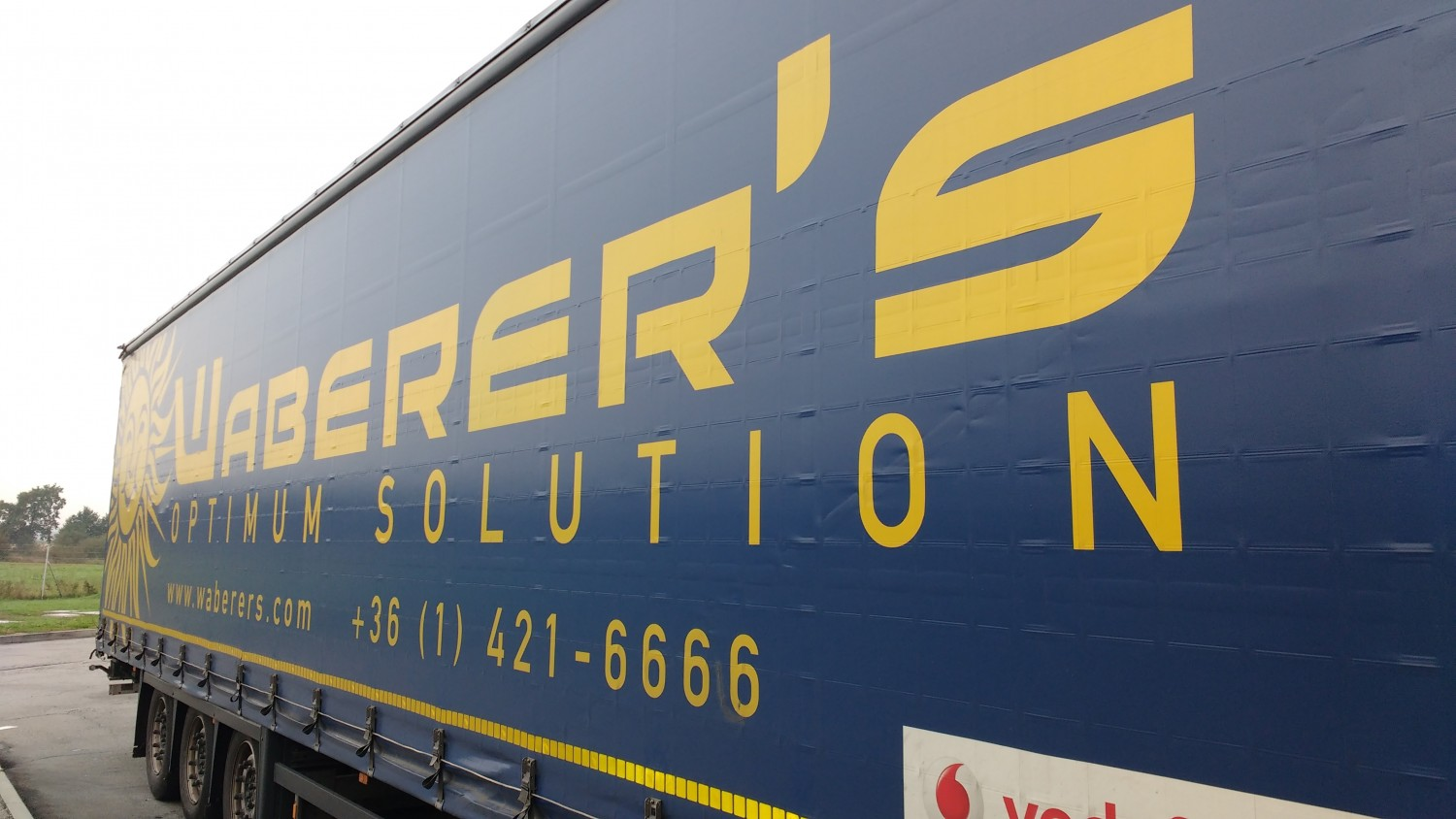 Waberer's Solution truck to Budapest