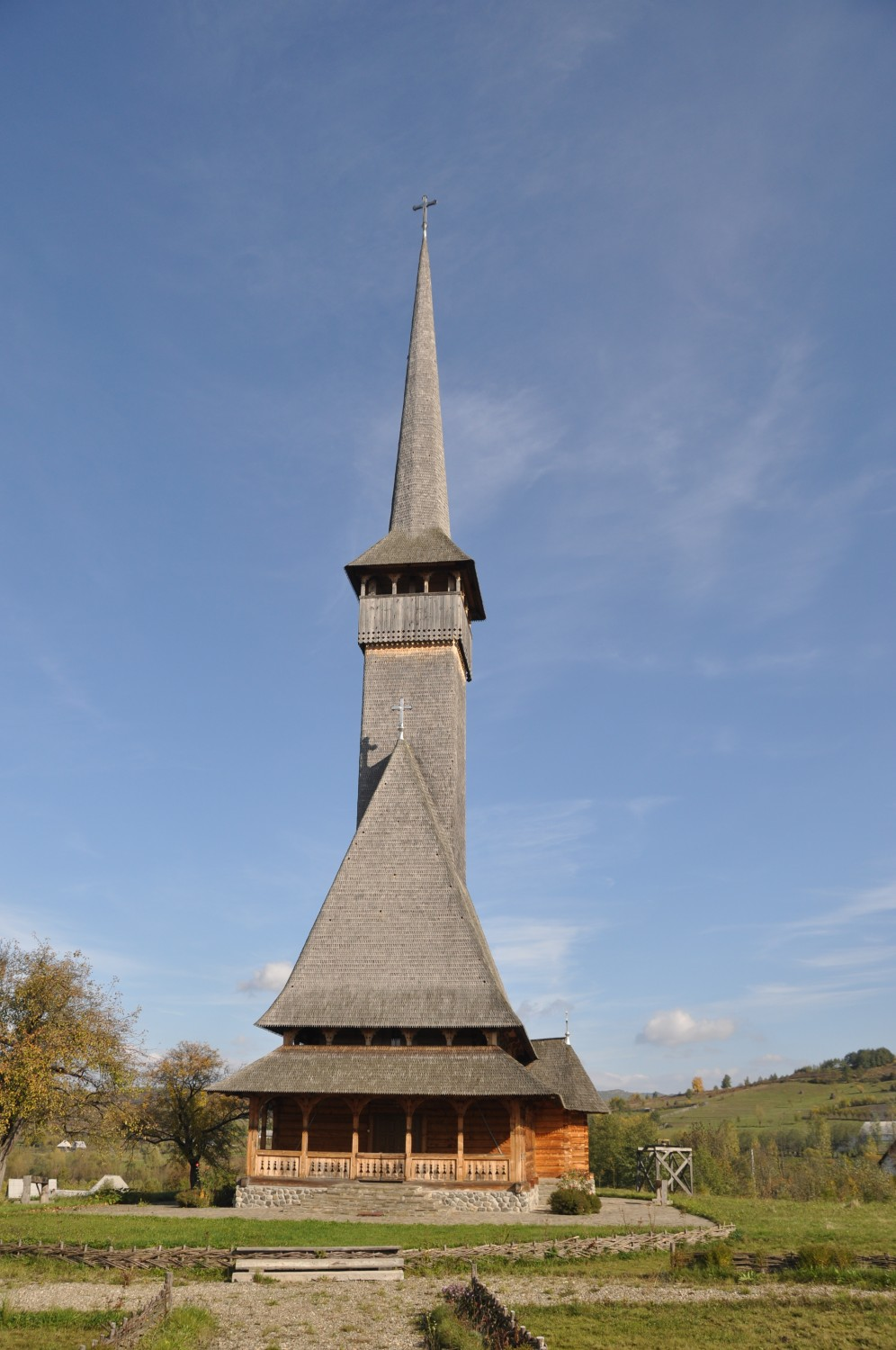 18th century wooden church