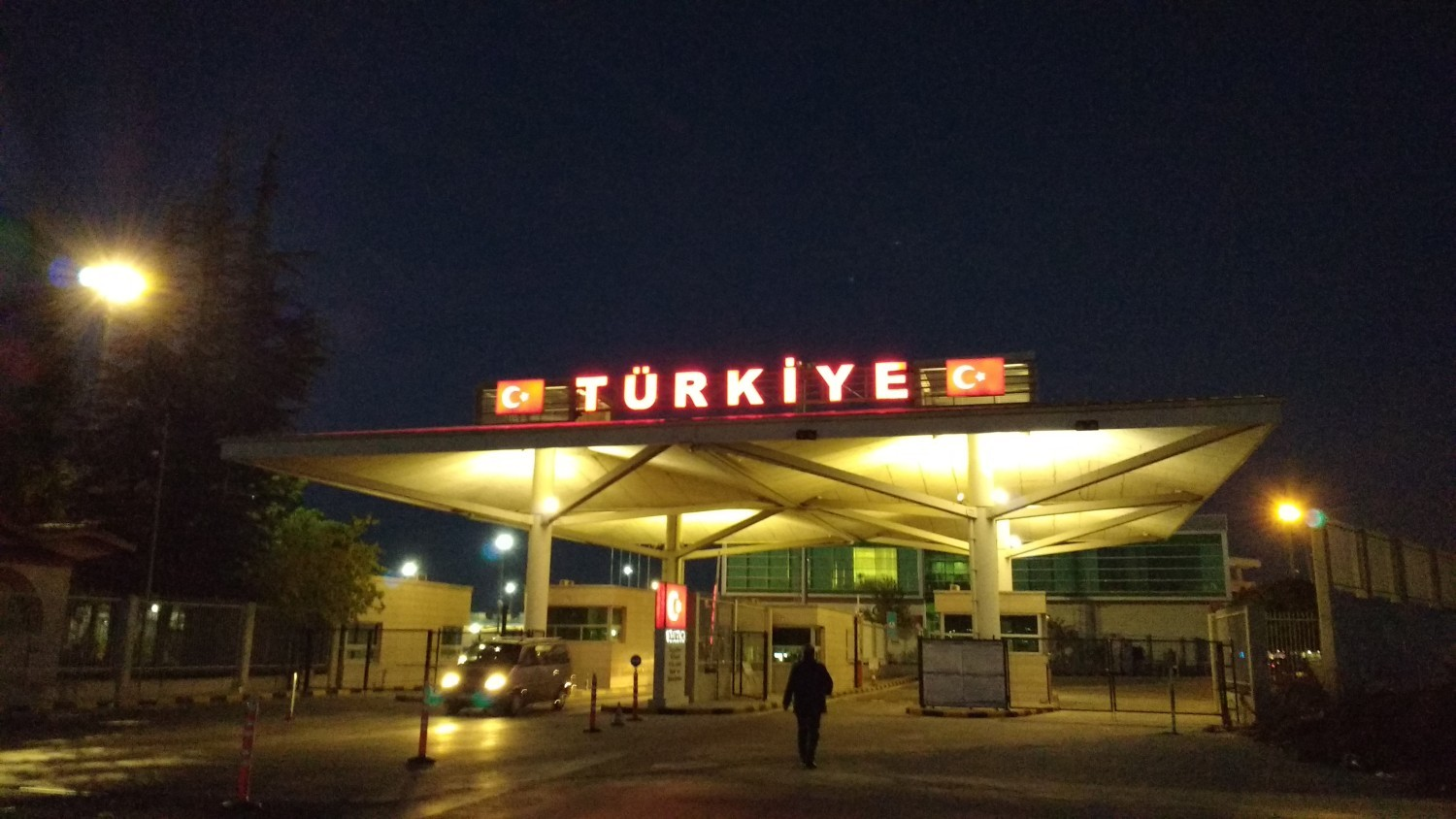 Finally entering Turkey