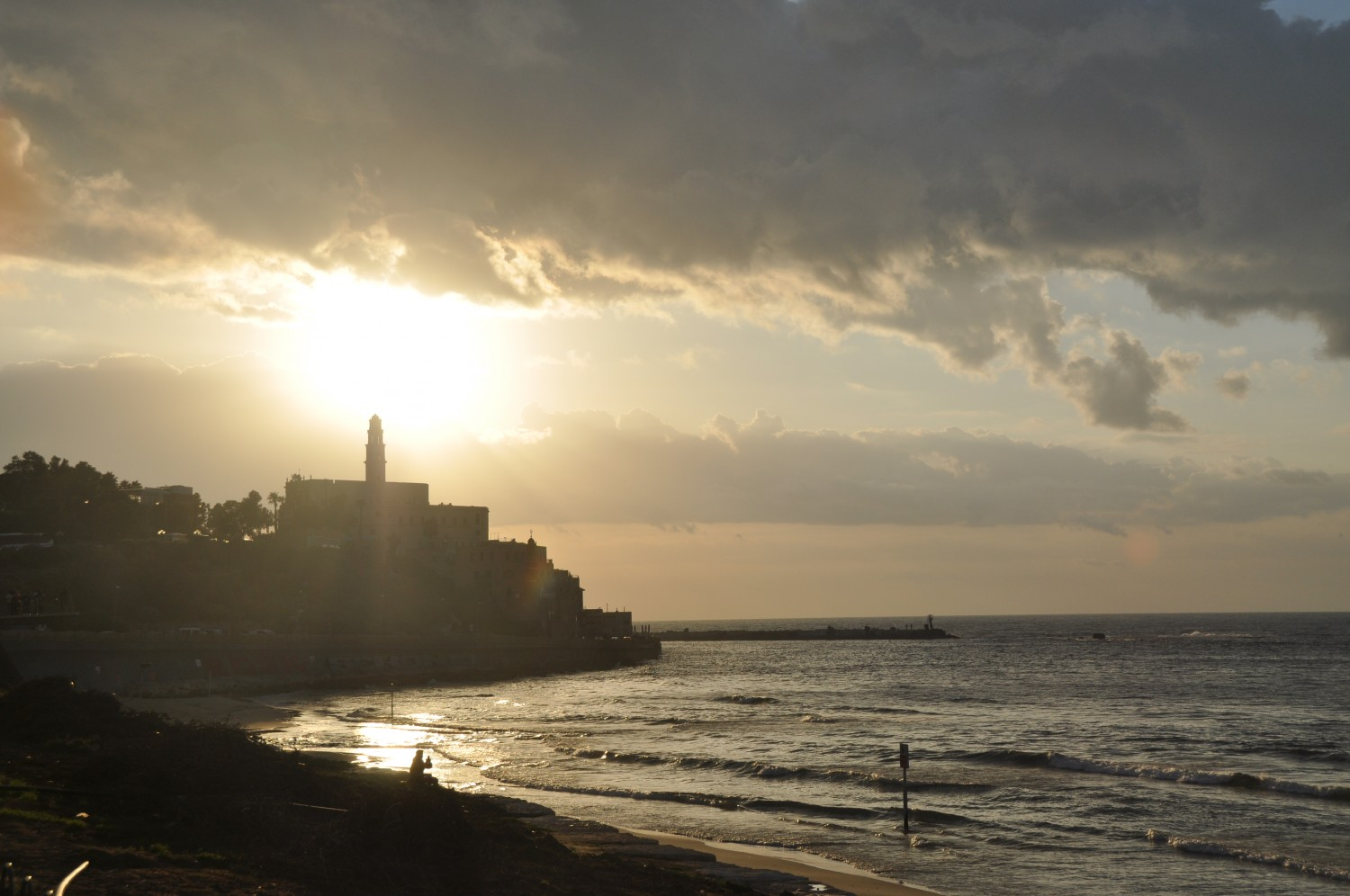 Sunset over Old Yaffo